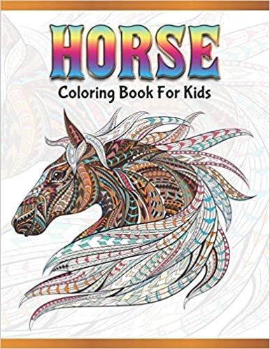 بدون تسجيل مجانا عبر الانترنت تماما Pdf تحميل Horse Coloring Book For Kids Cute Animals Relaxing Colouring Book Coloring Activity Book Discover This Collection Of Horse Coloring Pages
