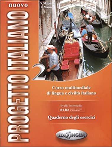 Nuovo Progetto Italiano 2 Quaderno Degli Esercizi +2 CD (İtalyanca Orta ve Orta-Üst Seviye) indir