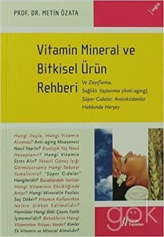 Vitamin Mineral ve Bitkisel Ürün Rehberi indir