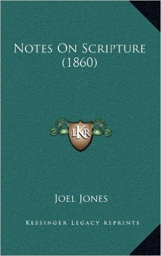 Notes on Scripture (1860)