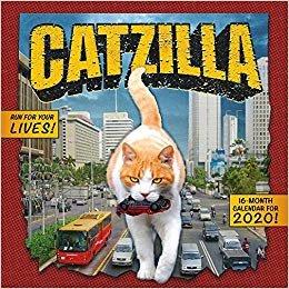 Catzilla 2020 Calendar