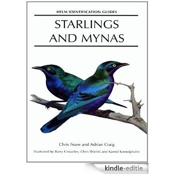 Starlings and Mynas (Helm Identification Guides) [Kindle-editie]