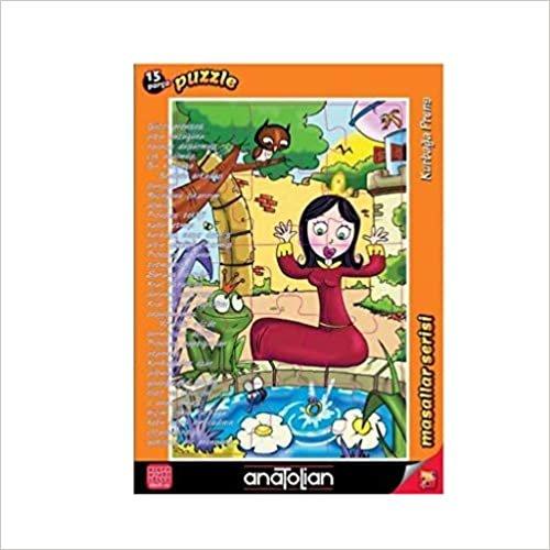 Kurbağa Prens Puzzle 15 7453