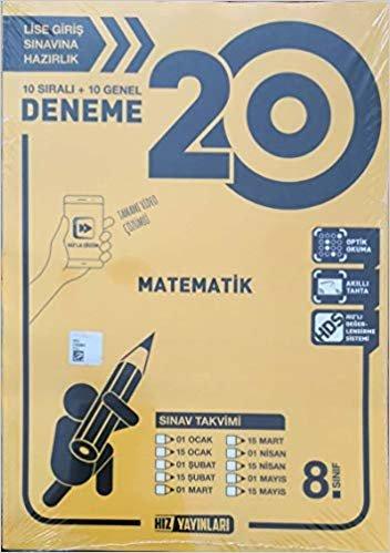 8. Sınıf Matematik 20 Deneme
