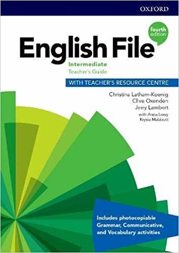 English File: Intermediate: Teacher's Guide with Teacher's Resource Centre