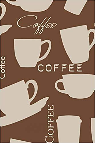 """Coffee: Journal 6"""" x 9"""" 