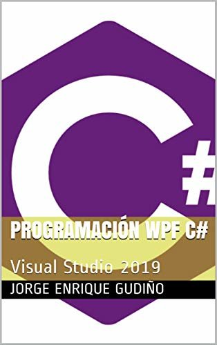 Programación WPF C#: Visual Studio 2019