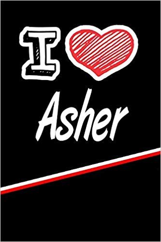 """I Love Asher: Blood Sugar Diet Diary journal log featuring 120 pages 6""""x9"""""""
