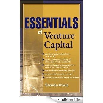 Essentials of Venture Capital (Essentials Series) [Kindle-editie]