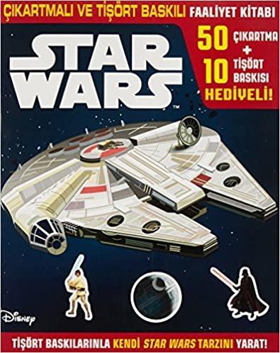 Disney Star Wars: Çıkartmalı Ve Tişört Baskılı Faaliyet Kitabı
