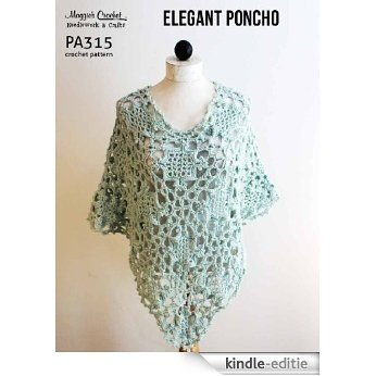 Crochet Pattern Elegant Poncho PA315-R (English Edition) [Kindle-editie]