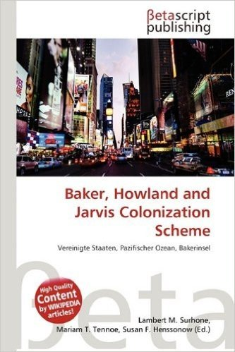 Baker, Howland and Jarvis Colonization Scheme