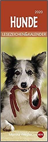 Hunde 2020 Lesezeichen & Kalender