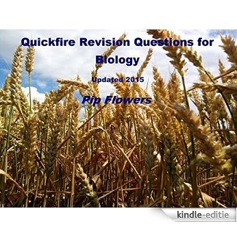 Quickfire Revision Questions for Biology 2015 edition (English Edition) [Kindle-editie]