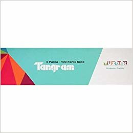 Zet T Tangram: 4 Parça 100 Farklı Şekil
