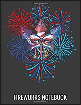 Firework Notebook: 4th of July FireWork Notebook Journal