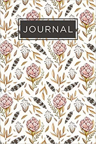 Inmate journal for women: Notebook with inspiring, positive and motivational quotes: Record your thoughts, document your progress: Floral pattern cover