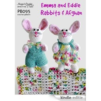 Crochet Pattern Emma & Eddie Rabbit PB095-R (English Edition) [Kindle-editie]