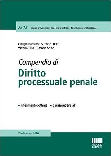 Compendio di diritto processuale penale scaricare