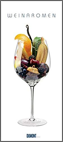 Weinaromen 2021 ‒ Wandkalender ‒ Hoch-Format 22 x 49,5 cm