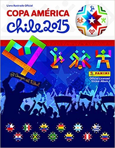 Copa América 2015 - Álbum De Figurinhas