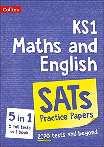 New KS1 Maths and English SATs Practice Papers: for the 2021 tests (Collins KS1 SATs Practice)
