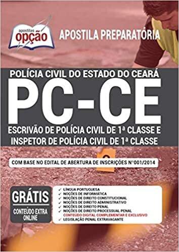 Apostila PC CE Escrivão Investigador Polícia Civil 1ª Classe
