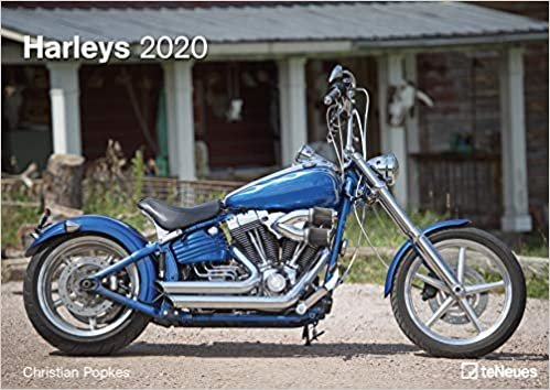Harleys 2020 A3 Wall Calendar