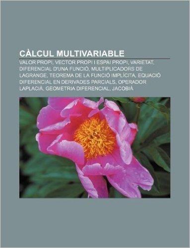 Calcul Multivariable: Valor Propi, Vector Propi I Espai Propi, Varietat, Diferencial D'Una Funcio, Multiplicadors de Lagrange