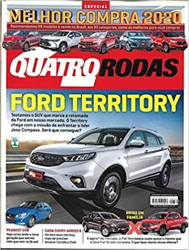 Revista Quatro Rodas nº 736 - Agosto 2020