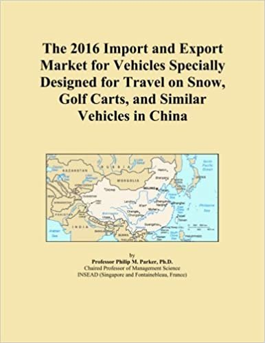 The 2016 Import and Export Market for Vehicles Specially Designed for Travel on Snow, Golf Carts, and Similar Vehicles in China
