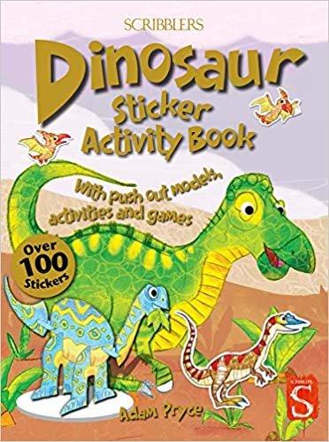 Dinosaur Sticker Activity Book (Scribblers Sticker Activity Book)