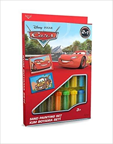 Cars Kum Boyama Seti DS-05