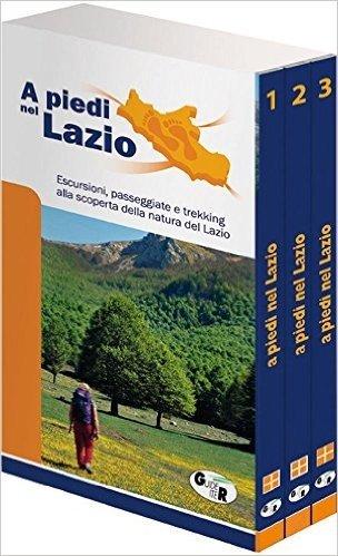 A piedi nel Lazio. Ediz. speciale vol 1-3