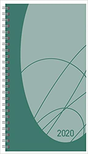 Taschenkalender Modus XL Flexi Colourlux petrol 2020