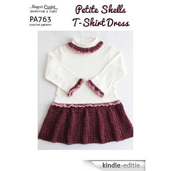 Crochet Pattern Petite Shells T-shirt Dress PA763-R (English Edition) [Kindle-editie]