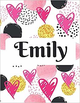 Emily: Personalized Name Journal with Blank Lined Paper descargar