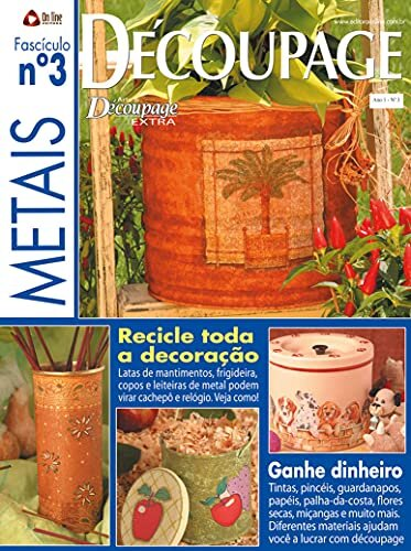 Arte & Découpage Extra: Edição 3