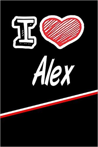 """I Love  Alex: Blood Sugar Diet Diary journal log featuring 120 pages 6""""x9"""""""