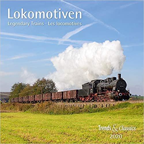 Lokomotiven Legendary Trains 2020/Broschüren-Wandkal