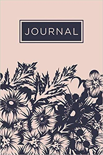 Inmate journal for women: Notebook with inspiring, positive and motivational quotes: Record your thoughts, document your progress: Navy and pink cover