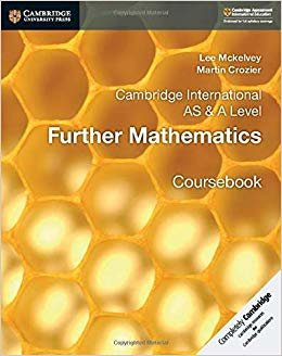 Cambridge International AS & A Level Further Mathematics Coursebook (Cambridge University Press)