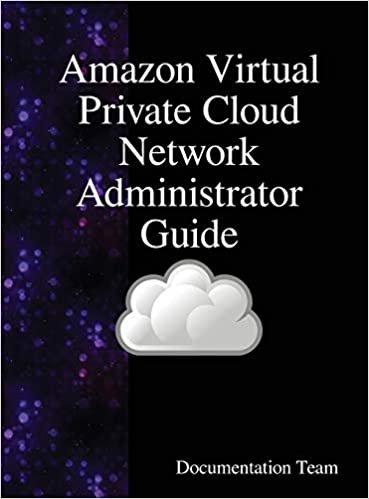 Amazon Virtual Private Cloud Network Administrator Guide