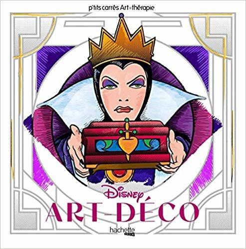 Les carrés d'Art Thérapie Disney Art déco (Heroes)