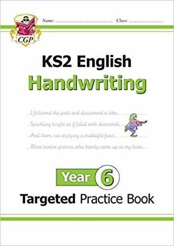 New KS2 English Targeted Practice Book: Handwriting - Year 6