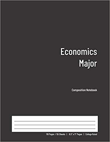 Economics Major Composition Notebook: College Ruled Book for Students - Study, Write, Draw, Journal & more in this 110 page Workbook