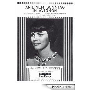 An einem Sonntag in Avignon (German Edition) [Kindle-editie]
