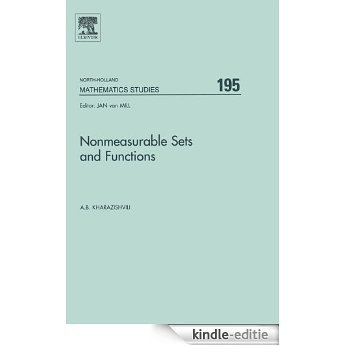 Nonmeasurable Sets and Functions (North-Holland Mathematics Studies) [Kindle-editie]