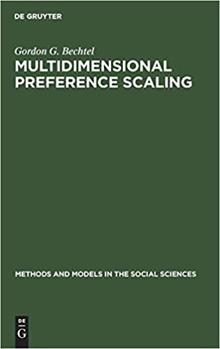 Multidimensional preference scaling