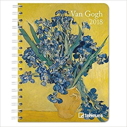 2018 Van Gogh Deluxe Diary- teNeues - 16.5 x 21.6 cm